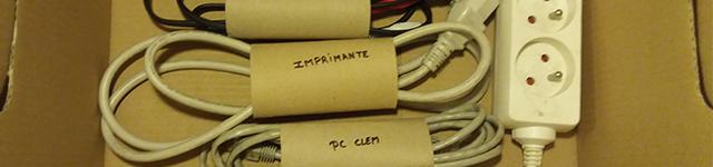 Déménagement : les astuces pour emballer tous vos cables